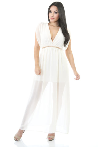 Cassie Chiffon Maxi Dress
