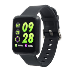 Mr. Fit Pro Tracker With Continuous Heart Rate, BP Monitor, GPS, Whatsapp/FB, Weather, Air Quality & Much More
