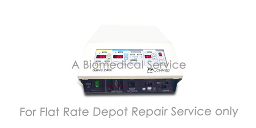 BioMedical-Conmed Excallibur Plus Repair Service