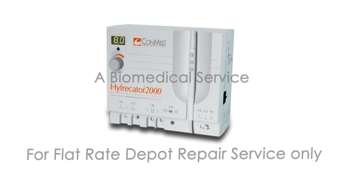 BioMedical-Conmed Hyfrecator 2000 Repair Service
