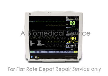 BioMedical-GE Carescape B450 Patient Monitor Repair Service