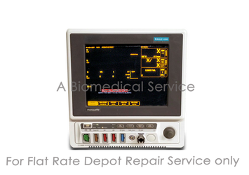 BioMedical-GE Eagle 4000 Patient Monitor Repair Service