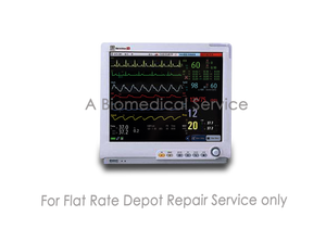 Mindray BeneView T8  Modular Patient Monitor for Intermediate & Critical Care Repair Service