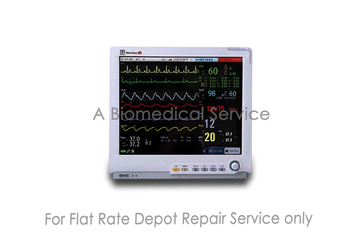 BioMedical-Mindray BeneView T8  Modular Patient Monitor for Intermediate & Critical Care Repair Service