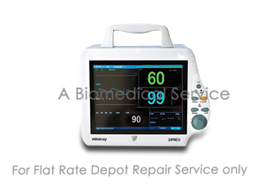 Mindray DPM4 Patient Monitor Repair Service