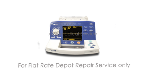 BioMedical-Philips HeartStart XL M4735A Defibrillator Repair Service