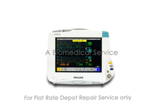 Load image into Gallery viewer, Philips Intellivue MP40 Patient Monitor Repair Service