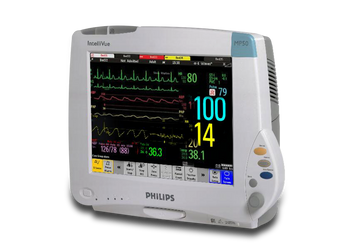 BioMedical-Philips IntelliVue MP50 M8004A Patient Monitor