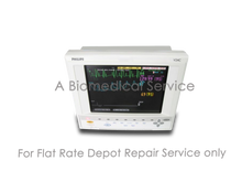 Load image into Gallery viewer, PHILIPS HP V24C M1204A Patient Monitor Repair Service
