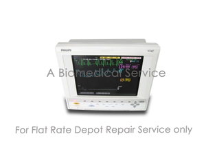 PHILIPS HP V24C M1204A Patient Monitor Repair Service