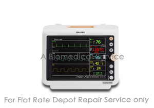 Philips SureSigns VM8 Bedside Patient Monitor Repair Service