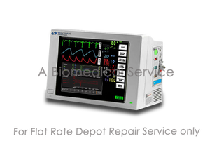 Spacelabs 90369 Ultraview 1050  Touch Screen Patient Monitor Repair Service