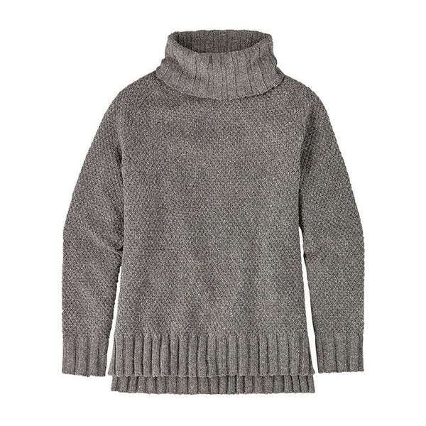 Patagonia Women's Off Country Turtleneck Grey