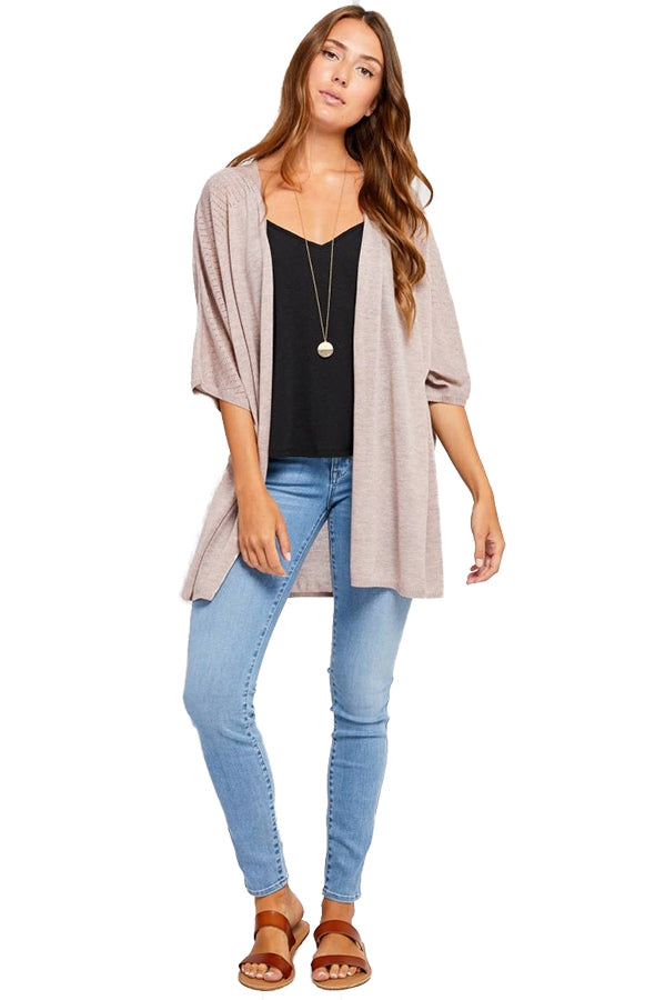 Gentle Fawn Women's Malri Cardigan Heather Rose