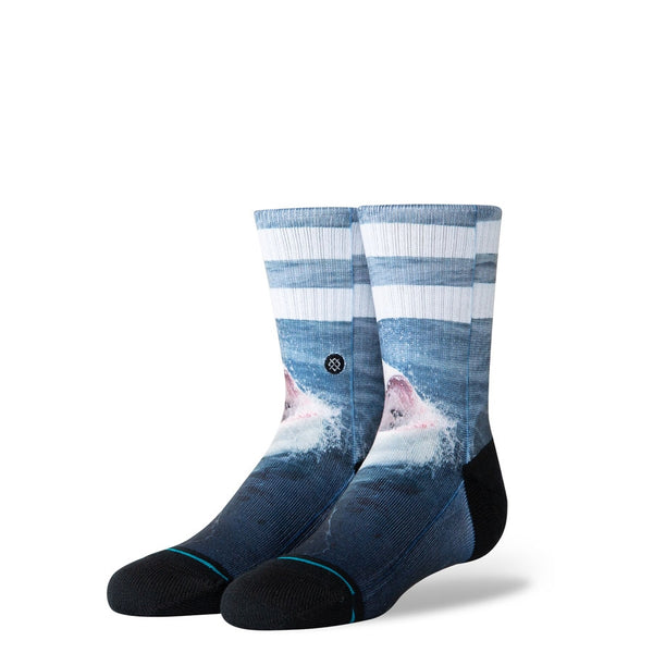 Stance Youth Shark Bait Crew Black