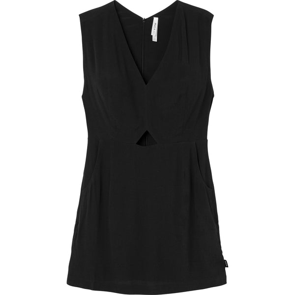 RVCA Ladies Meecrow Dress Black