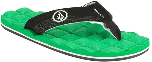 Volcom Recliner Sandal Electric Green