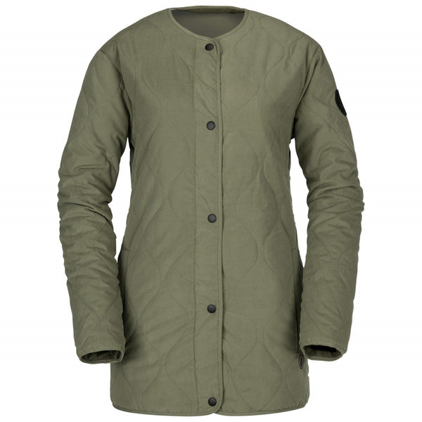 Volcom W Jacket Liner Insulated Military