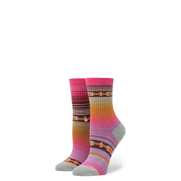 Stance Youth Bomb Diggity Girls Crew Pink
