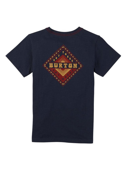 Burton Youth Anchor Point Short Sleeve Mood Indigo