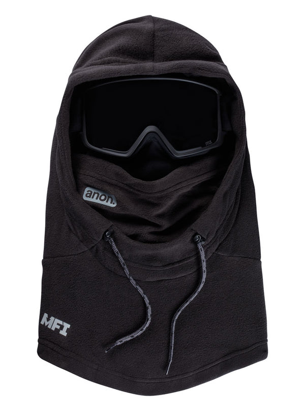 Anon Men's MFI Fleece Helmet Hood Black 2021