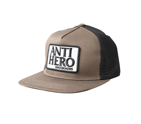 Anti-Hero Reserve Patch Snapback - Brown/White