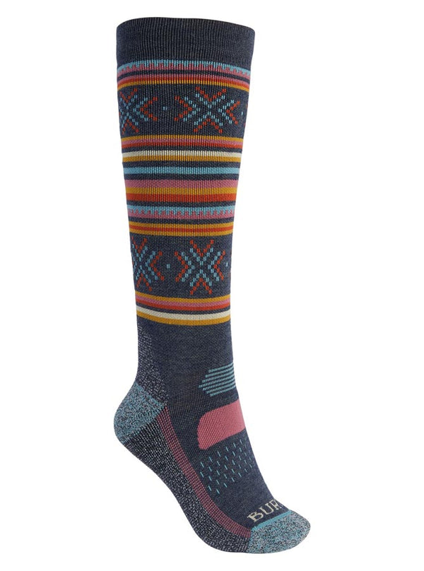 Burton Women's Performance Midweight Sock Dark Slate 2021