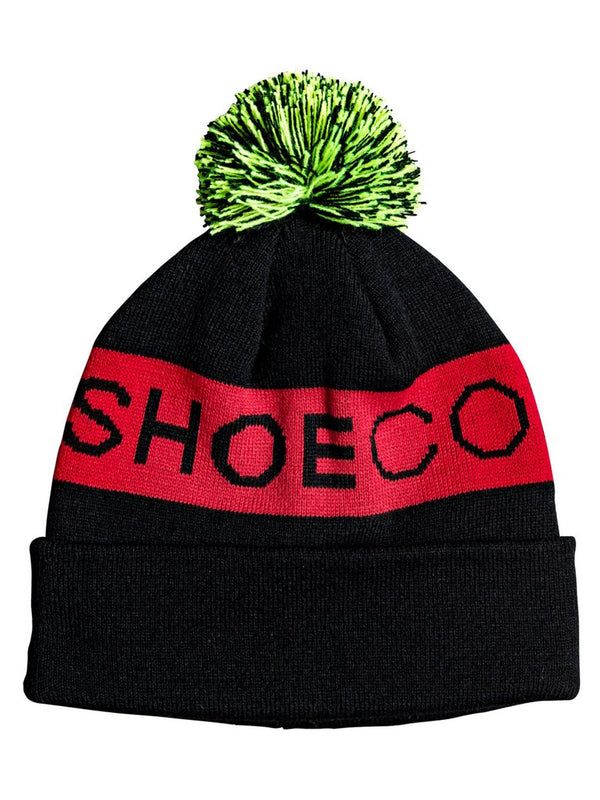 DC 2020 Youth Chester Pom-Pom Beanie Black