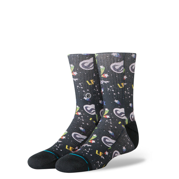 Stance Youth Level Up Sock Black