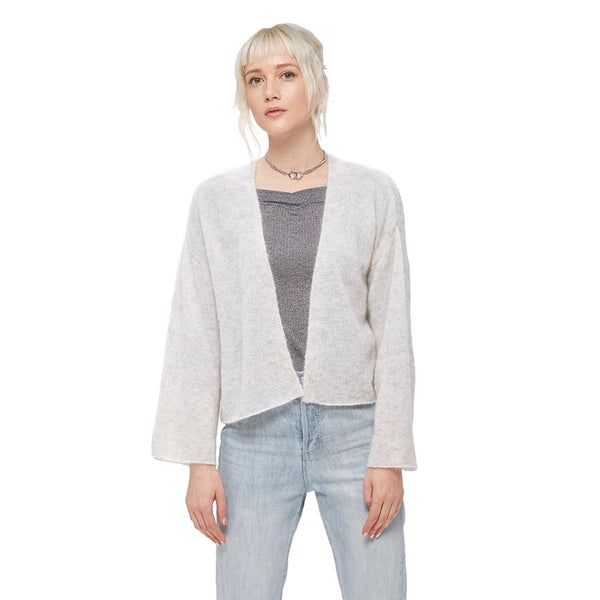 Obey Women's Veronica Cardi Heather Oatmeal