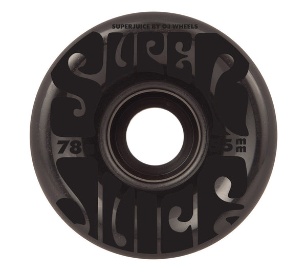 OJ's Wheels Mini Super Juice Translucent Black 78A 55mm