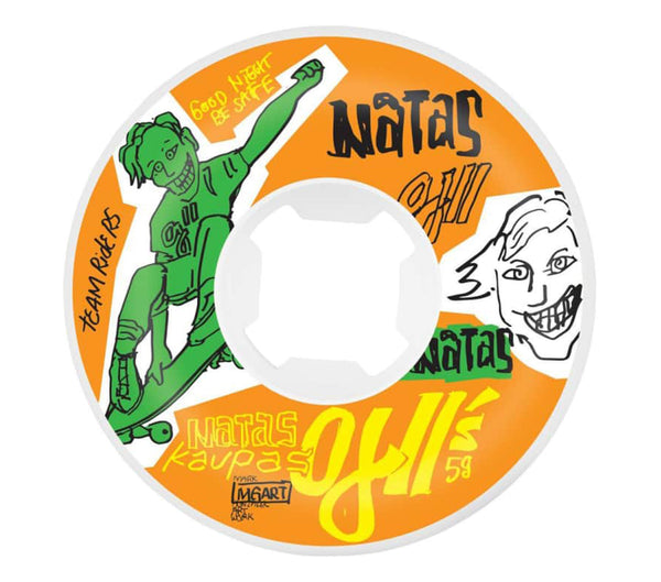 OJ's Wheels Natas Kaupas OJ2 Original 95A 58mm