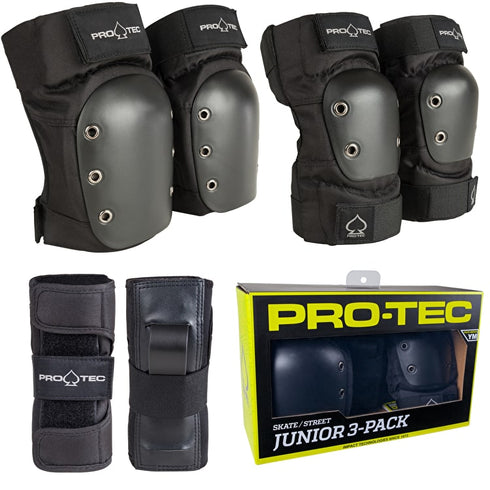 Protec Kids' Youth Gear 3 Pack Youth Small