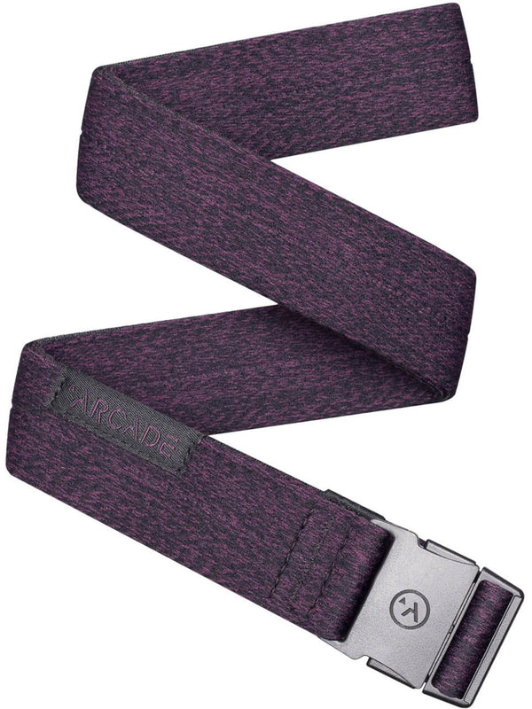 Arcade Ranger Slim Belt Heather Wine
