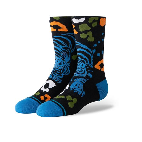 Stance Youth Leo Tigre Crew Black