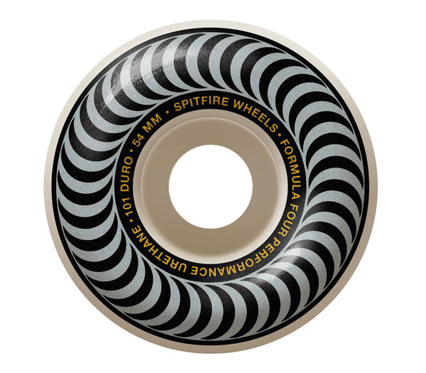 Spitfire Wheels F4 Classic Silver 54mm