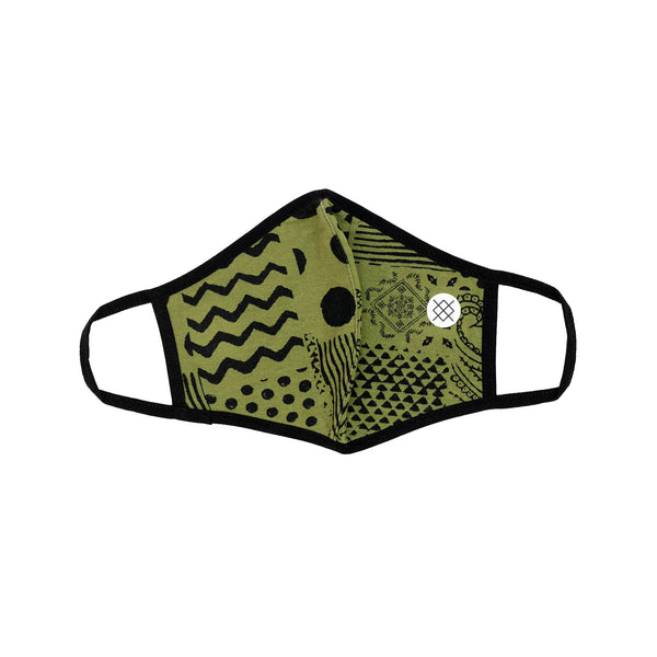 Stance Face Mask Pox Green