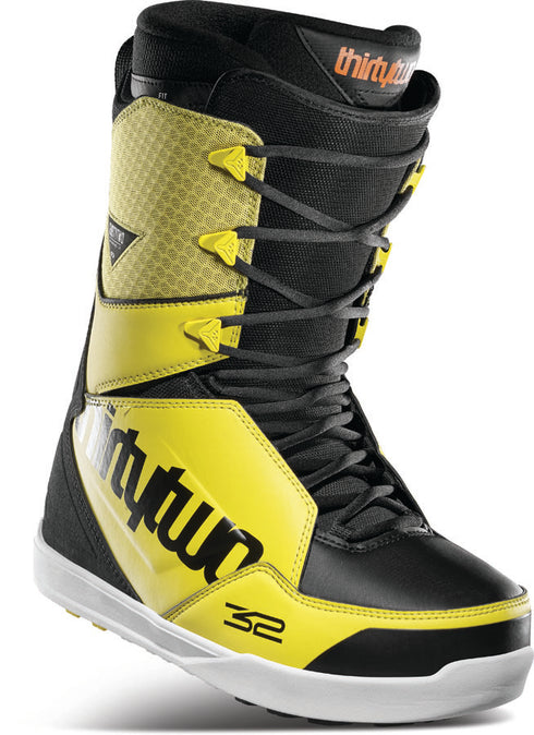 ThirtyTwo Lashed Boot Black Yellow 2021