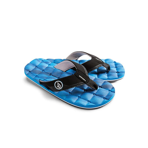 Volcom T Recliner Sndl Leather Mrna Blue