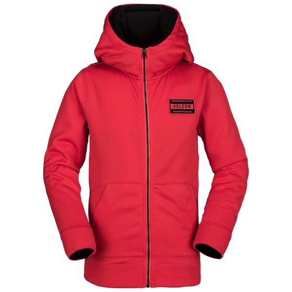 Volcom 2019 Youth Krestova Fleece Fire Red