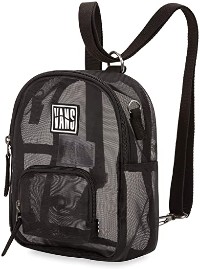 Vans W Two Timing Mesh Backpack Black