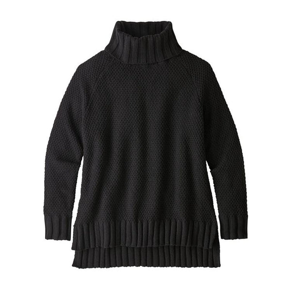 Patagonia Women's Off Country Turtleneck Black