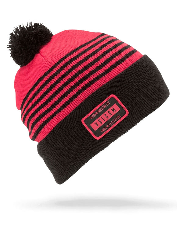 Volcom 2019 Youth Powder Beanie Fire Red