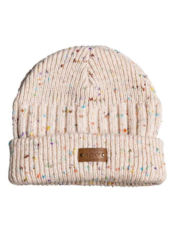 Roxy 2020 Youth Taylor Beanie Bright White