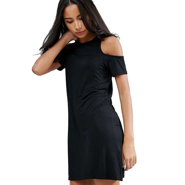MINKPINK Women's Fortune N Fame T-Shirt Dress Black