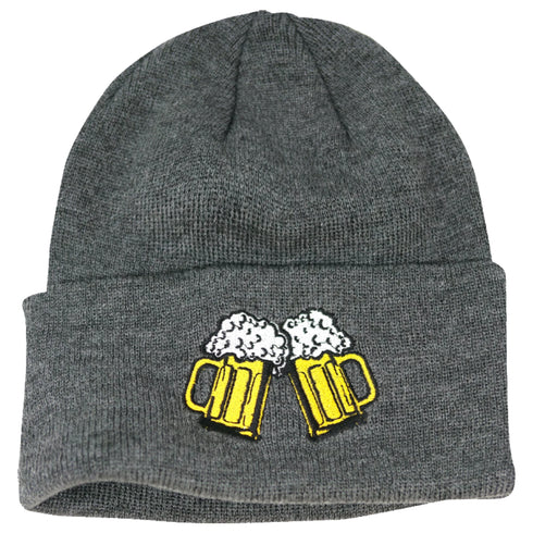 Coal 2017 Women's The Crave Patch Cuff Beanie Charcoal (Beer)