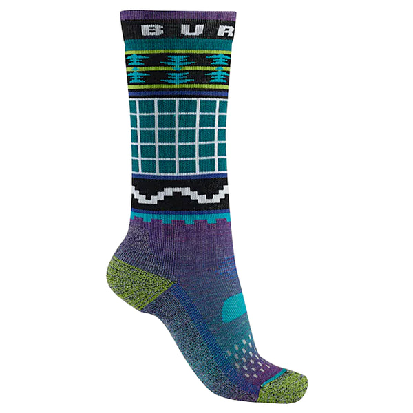 Burton 2020 Youth Performance Midweight Sock Wildstyle