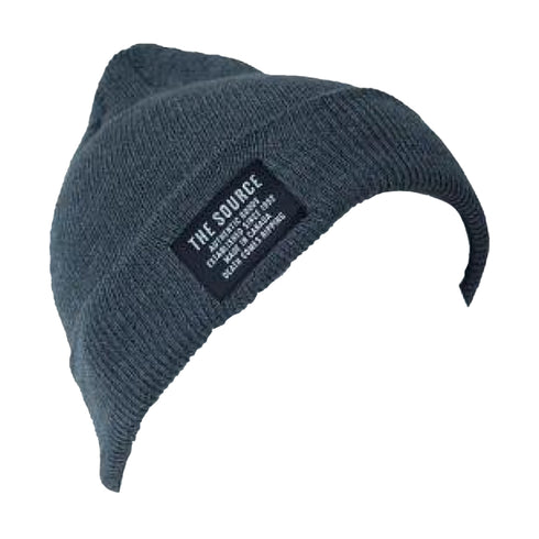Source Southside Cuff Beanie Heather Charcoal