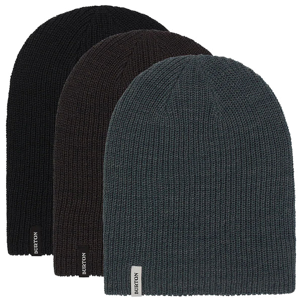 Burton DND Beanie 3-Pack True Black/Phantom/Dark Slate 2021