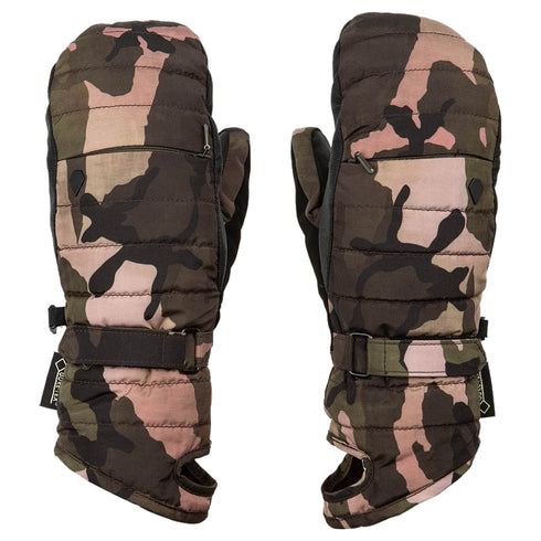 Volcom 2020 Women's Peep Gore Mitt Faded Army